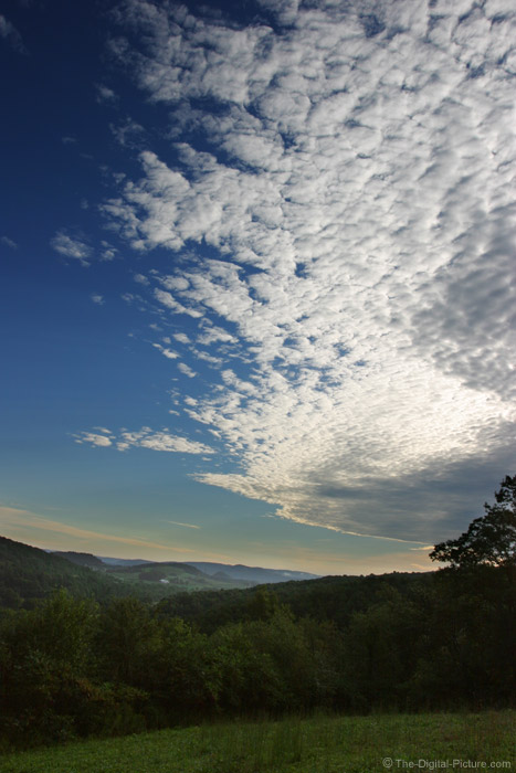 White Clouds and Blue Sky Picture