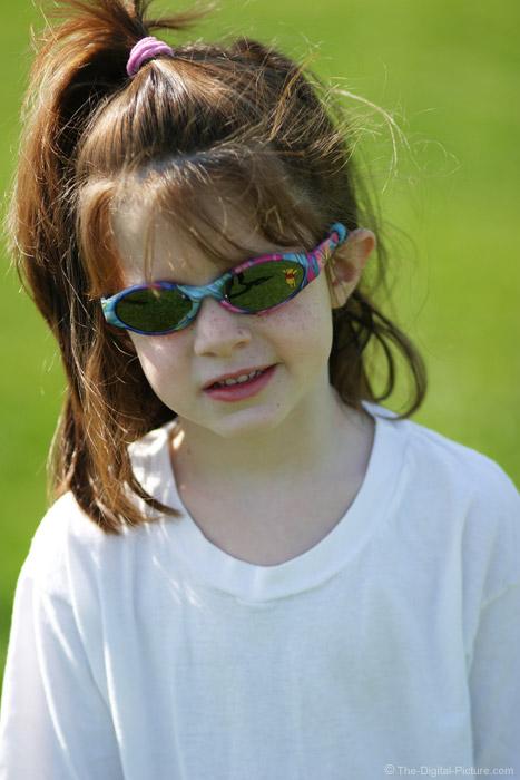 Girl in Sunglasses Picture