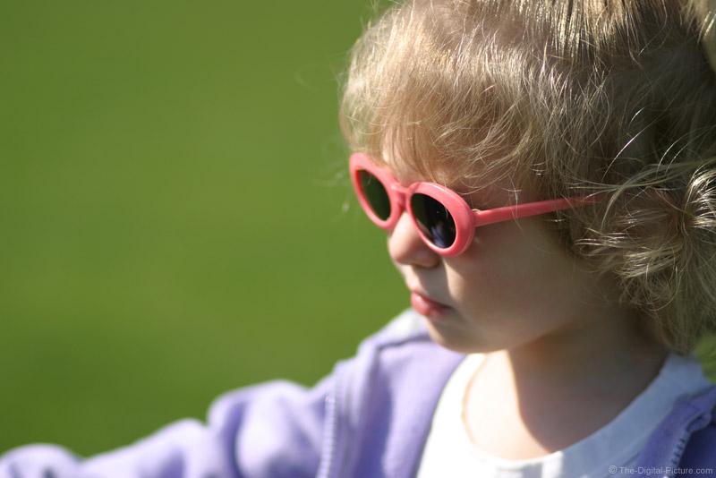 Kid in Sunglasses Picture