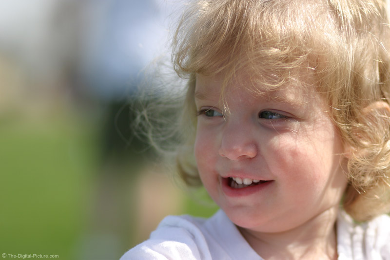 Little Girl with Dimples Picture