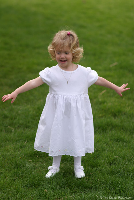 Little Girl Holding Her Arms Out Picture