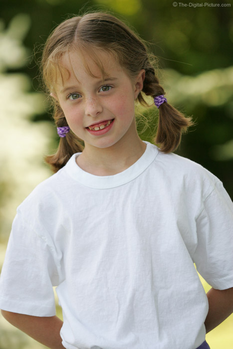 Cute Girl in Pigtails Picture