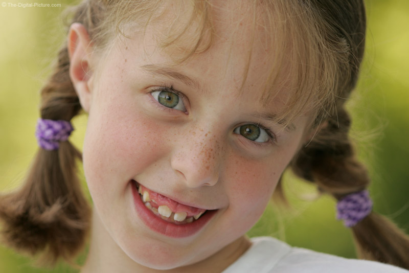 Girl in Pigtails Picture