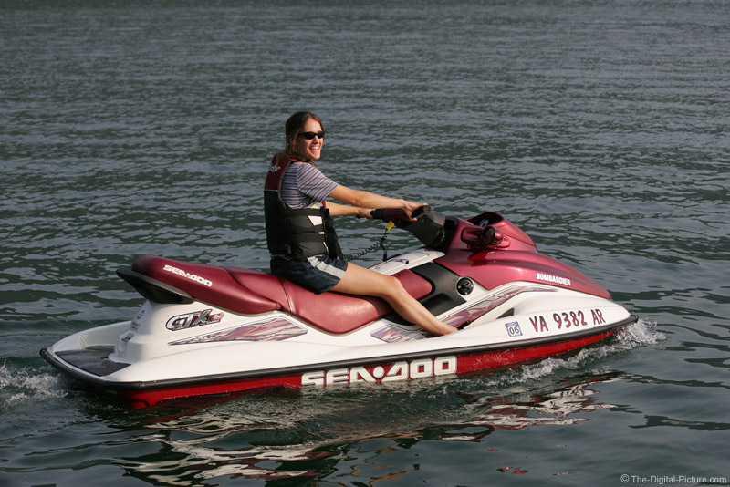 Girl Riding Sea Doo Picture