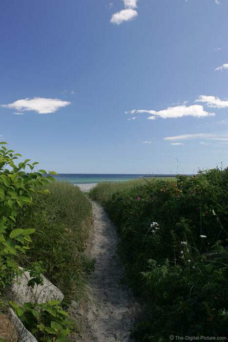 Path to Goose Rocks Beach Picture