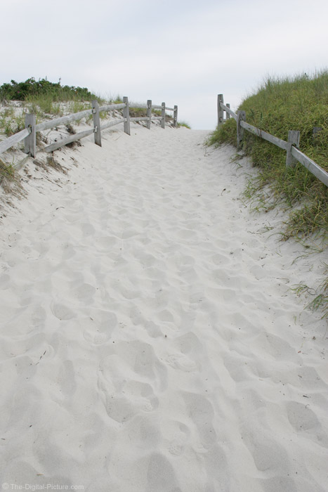 Sandy Path to Island Beach State Park