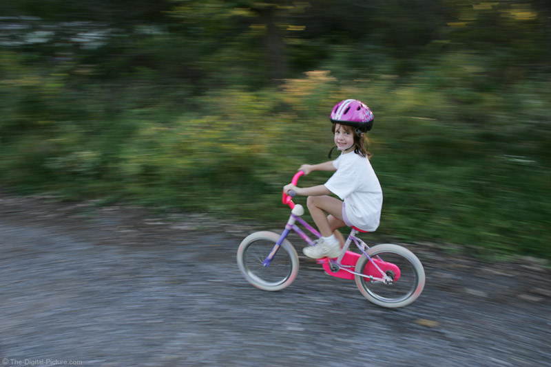 Panning Bicycle Picture
