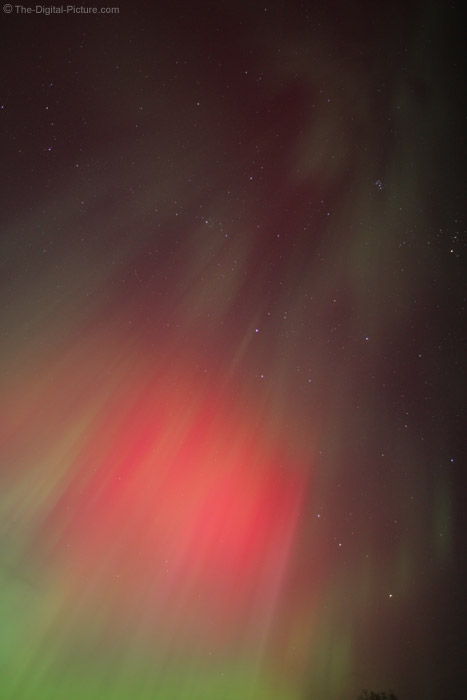 Red Ball Northern Lights Picture