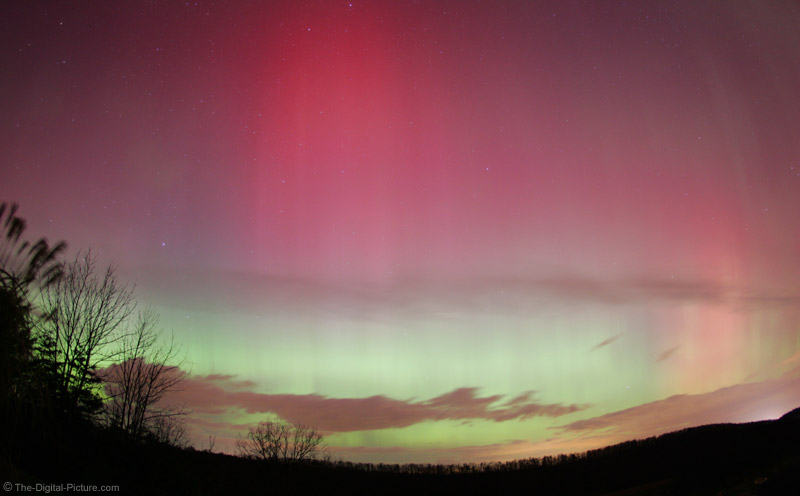 Northern Light Show Picture