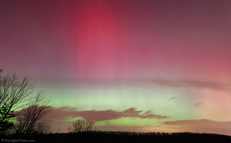 Northern Light Show Picture - Defished