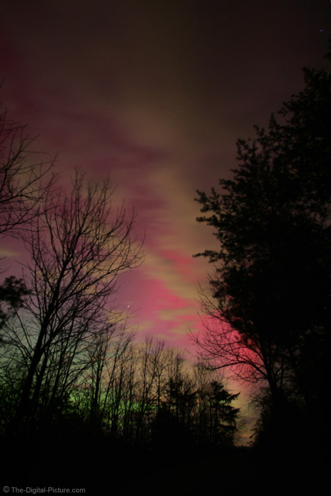 The Sky Is On Fire - Northern Lights Picture