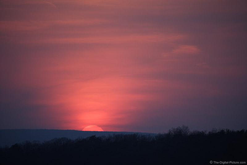 Setting Sun Picture