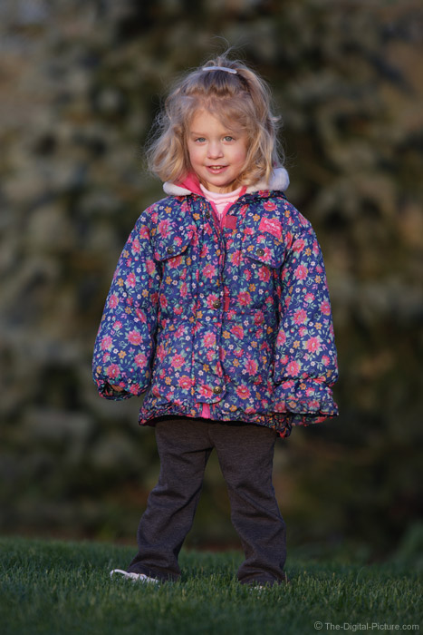 Little Girl in Jacket Picture