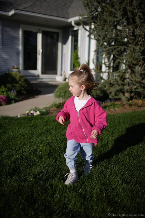 Little Girl Running 2