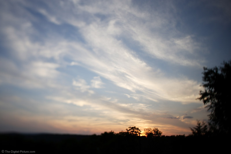 Sunset and Clouds Picture
