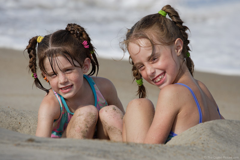 Sisters in the Sand Picture