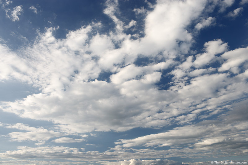 Blue Sky and White Clouds Picture