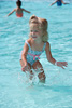 Playing in the Swimming Pool Picture