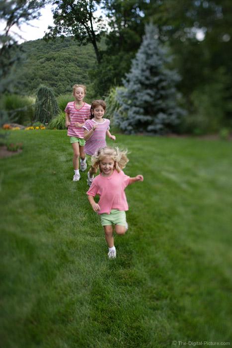 Three Girls Running Picture