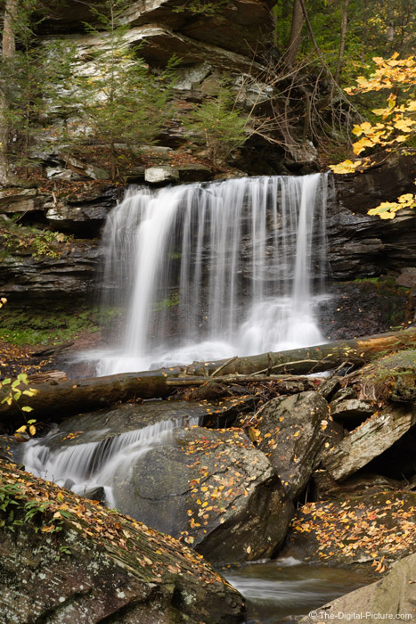 Fall Waterfall Picture