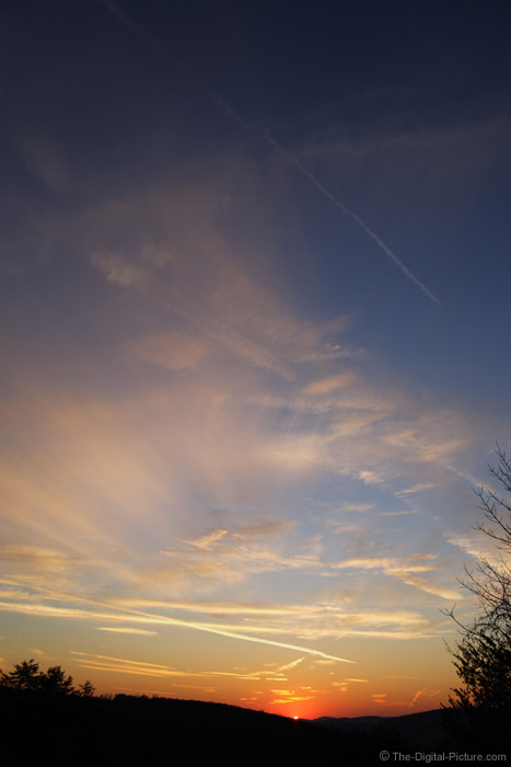 Wide Sky Sunset Picture