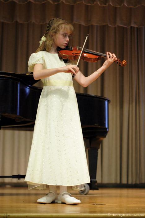 Violin Recital Picture