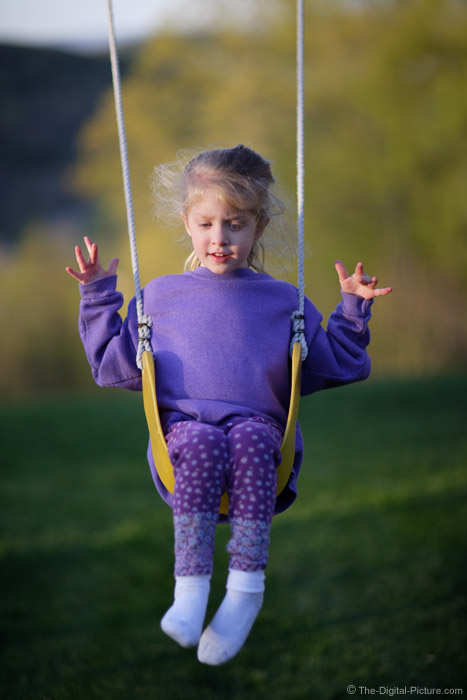 Child Swinging Picture
