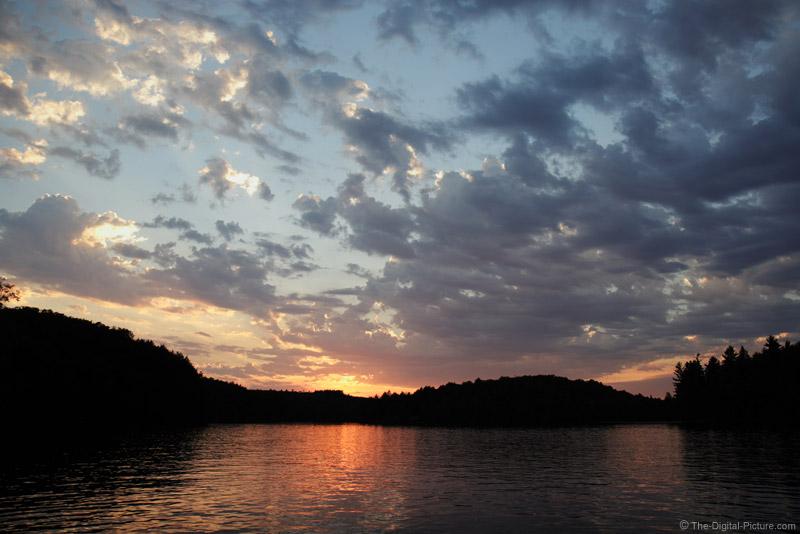 Lake Ahmic Sunset