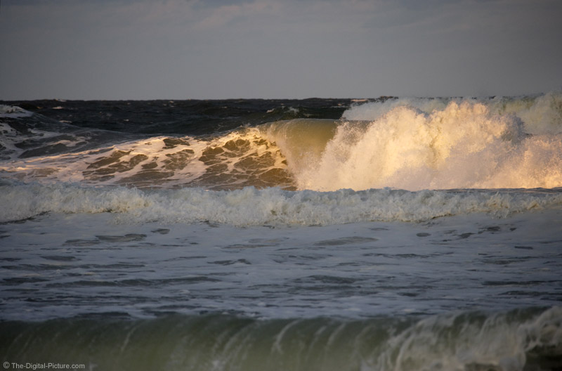 East Coast Sunset Wave Picture