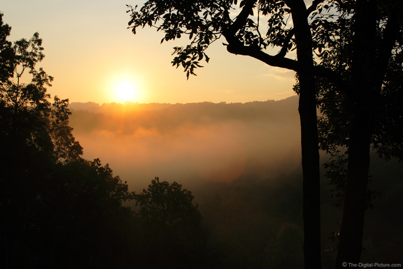 Sunrise Over Valley Fog Picture