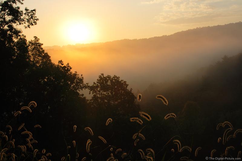 Sunrise Over Fog Picture