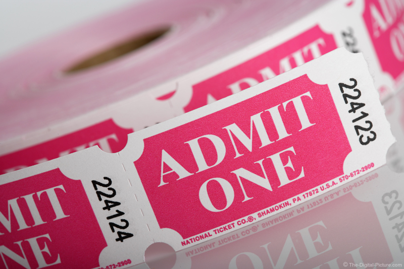 Admit One Ticket Picture