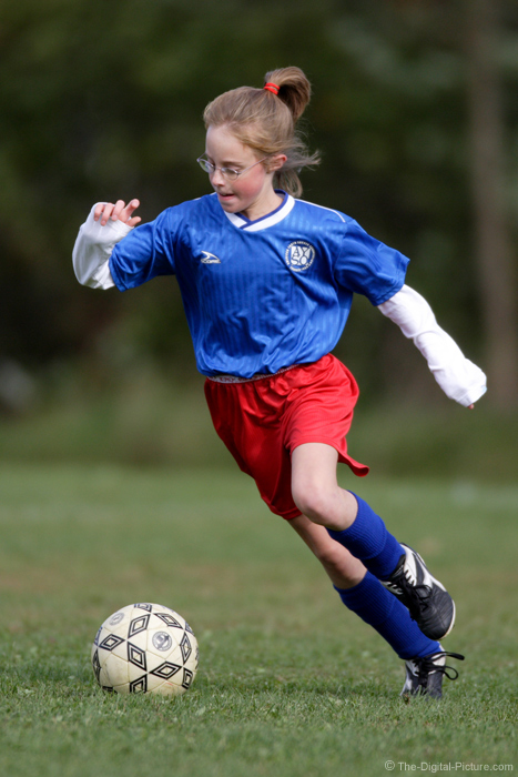 Fast Action Soccer Picture