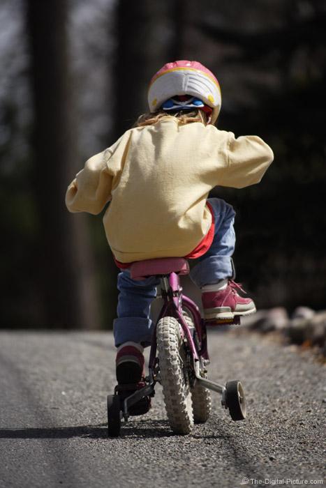 Riding Bike Picture