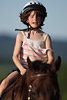 Horseback Riding Action Close-up Picture