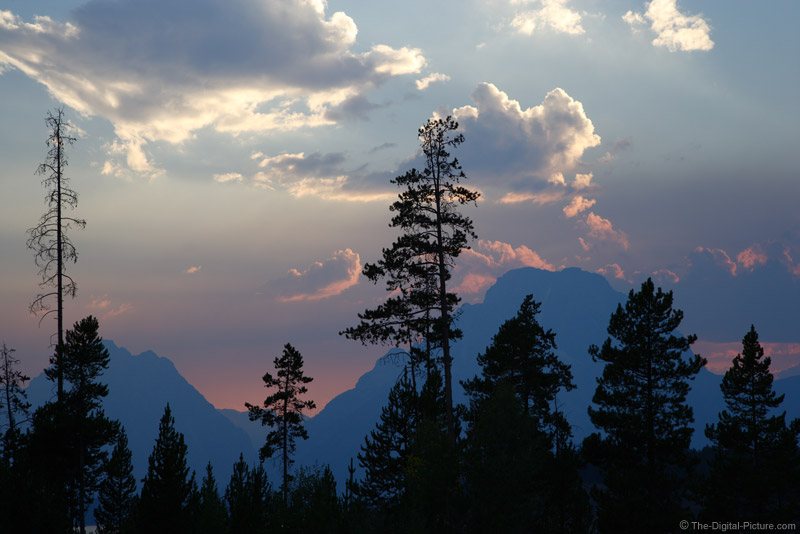 Sunset over Mount Moran, Grand Teton National Park