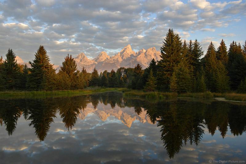 Morning at Schwabacher Landing, Grand Teton National Park