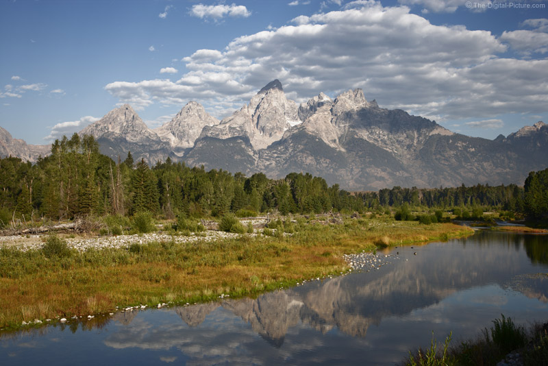 Grand Teton Reflecting in Snake River