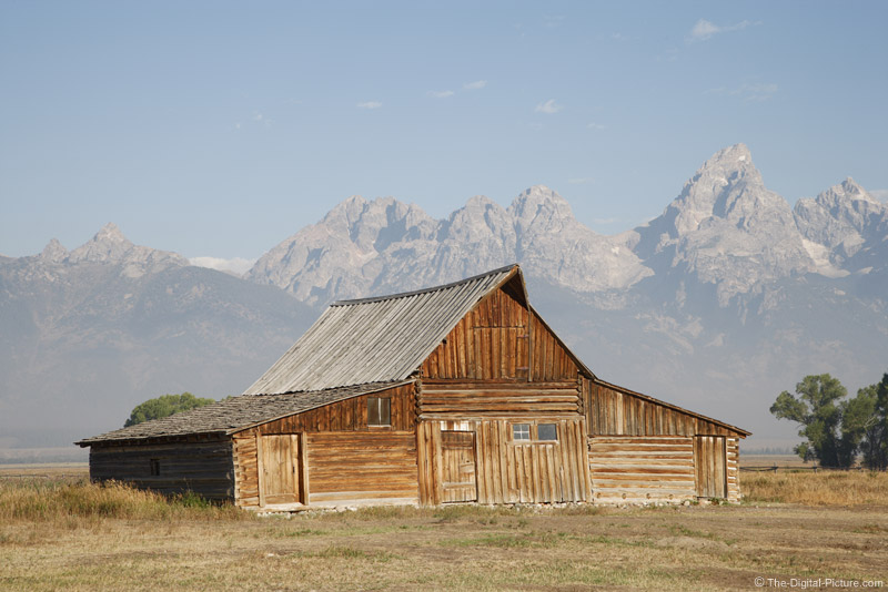 Old Barn on Mormon Rowe near Grand Teton National Park