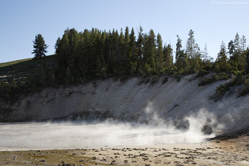 Hot Spring by Mud Volcano, YNP