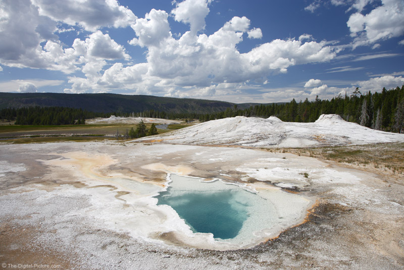 Hot Spring in Old Faithful Area
