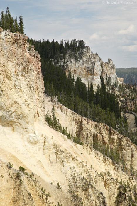 Canyon Wall, Yellowstone National Park