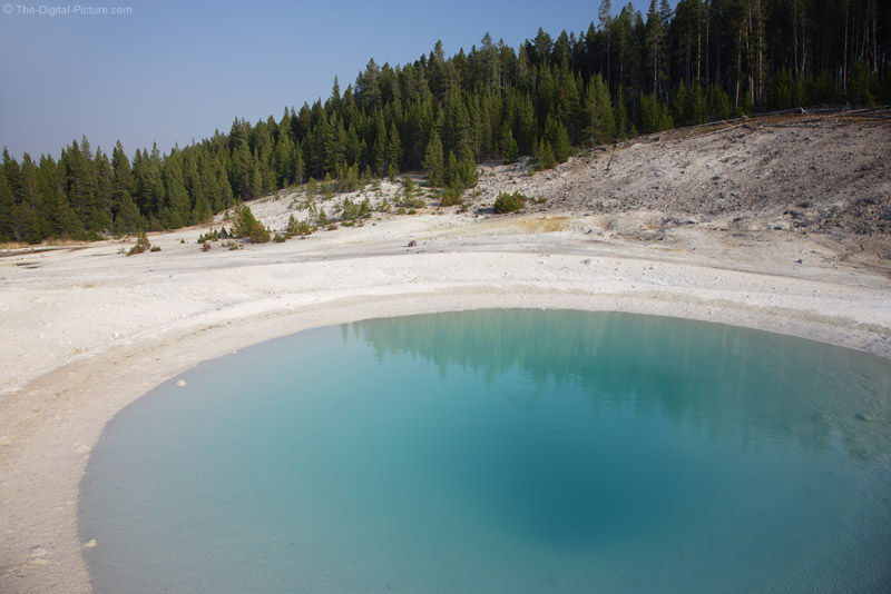 Emerald-colored Hot Spring, Norris Geyser Basin