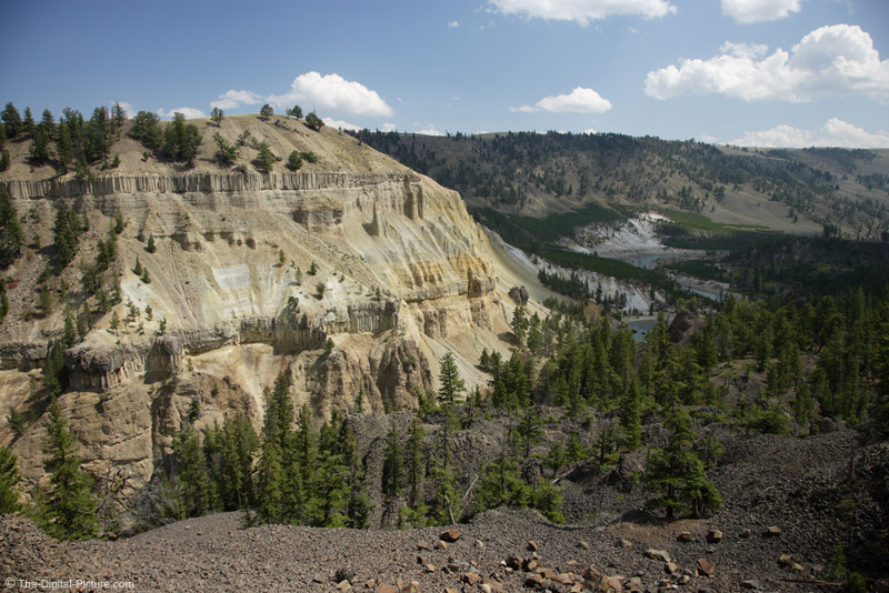 Tower Falls Area, Yellowstone National Park