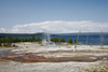 Hot Spring Run-off, West Thumb Geyser basin