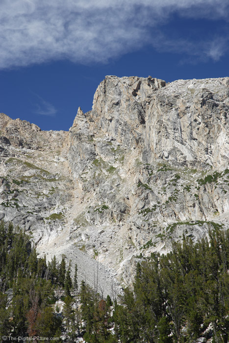 Mountain Face, Grand Teton National Park