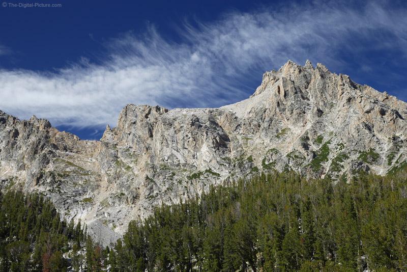 Grand Teton Mountain Peak Picture