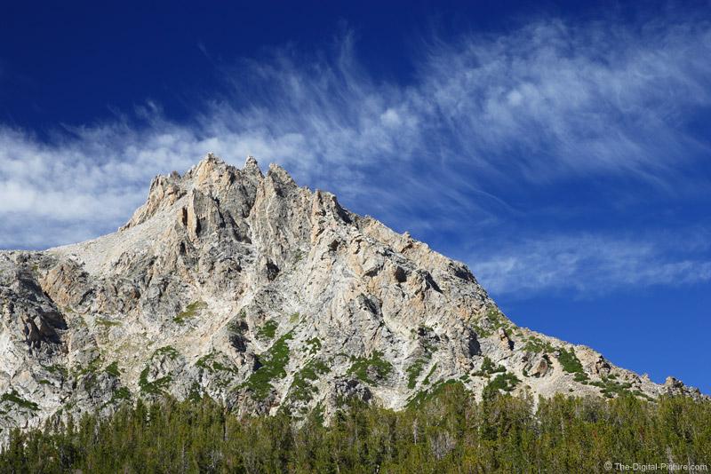 Grand Teton Rising Above the Tree Line