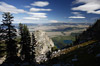Mountaintop View of Jackson Hole, Wyoming
