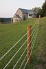 Stone Barn and Pasture Fence Picture